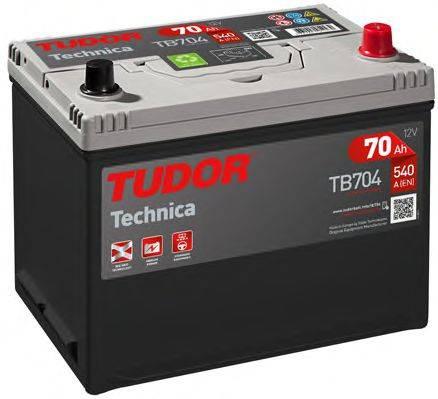 TUDOR TB704 Стартерная аккумуляторная батарея; Стартерная аккумуляторная батарея