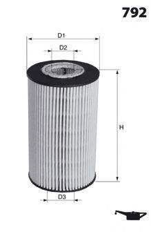 MECAFILTER ELH4302 Масляный фильтр