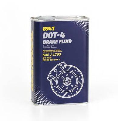 SCT GERMANY BRAKEFLUIDDOT4 Тормозная жидкость; Тормозная жидкость