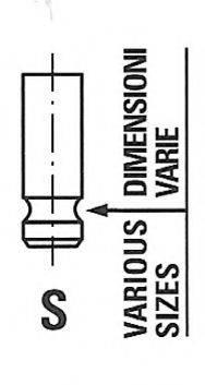 FRECCIA R6284SNT Впускной клапан