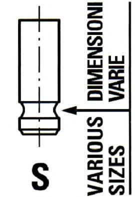 IPSA VL145900 Впускной клапан
