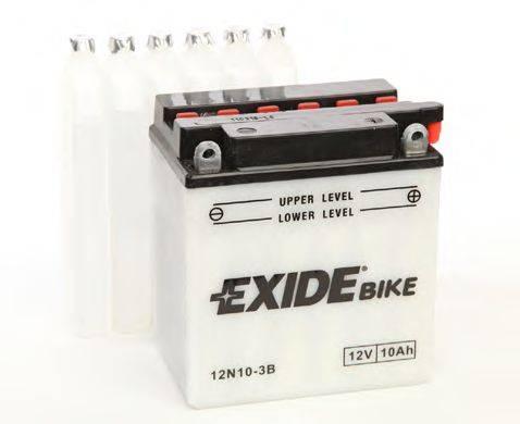 Стартерная аккумуляторная батарея; Стартерная аккумуляторная батарея EXIDE 12N10-3B