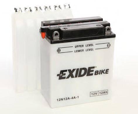 Стартерная аккумуляторная батарея; Стартерная аккумуляторная батарея EXIDE 12N12A-4A-1