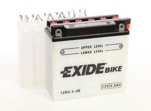 Стартерная аккумуляторная батарея; Стартерная аккумуляторная батарея EXIDE 12N5,5-3B