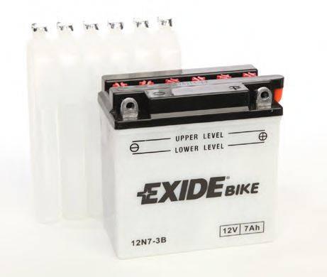 Стартерная аккумуляторная батарея; Стартерная аккумуляторная батарея EXIDE 12N7-3B