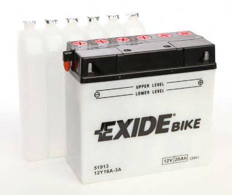 Стартерная аккумуляторная батарея; Стартерная аккумуляторная батарея EXIDE 12Y16A-3A