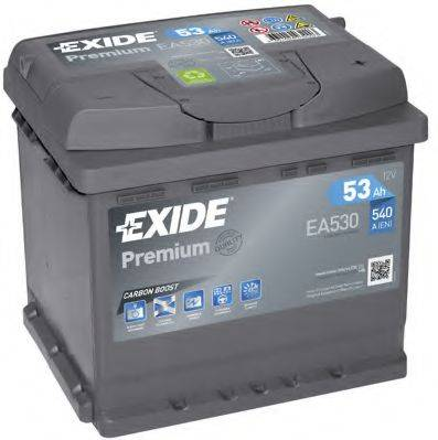 EXIDE EA530 Стартерная аккумуляторная батарея; Стартерная аккумуляторная батарея