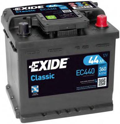 EXIDE EC440 Стартерная аккумуляторная батарея; Стартерная аккумуляторная батарея