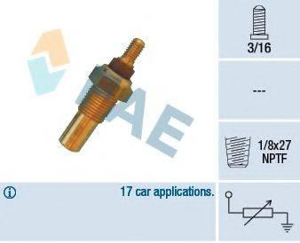 Датчик, температура охлаждающей жидкости FAE 32020