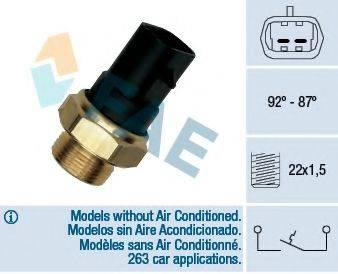 FAE 37220 Термовыключатель, вентилятор радиатора