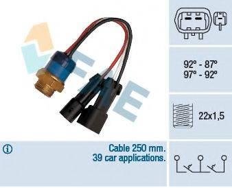 FAE 38090 Термовыключатель, вентилятор радиатора