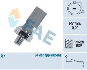 Датчик давления масла FAE 12830