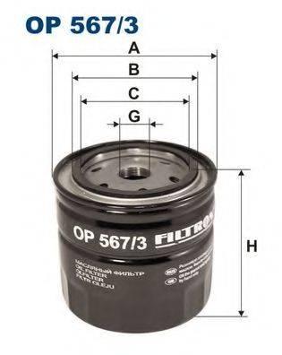 FILTRON OP5673 Масляный фильтр