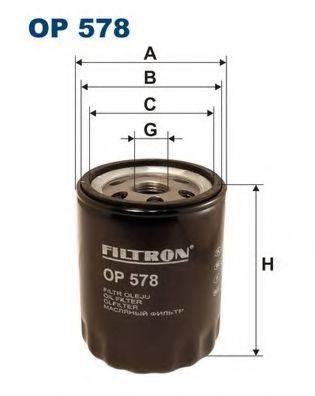 FILTRON OP578 Масляный фильтр