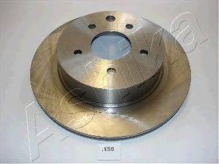 ASHIKA 6101158 Тормозной диск
