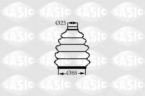 Комплект пылника, приводной вал SASIC 9004719