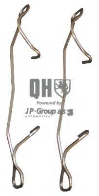 JP GROUP 1263650119 Комплектующие, колодки дискового тормоза