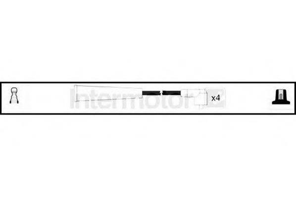 STANDARD 73514 Комплект проводов зажигания
