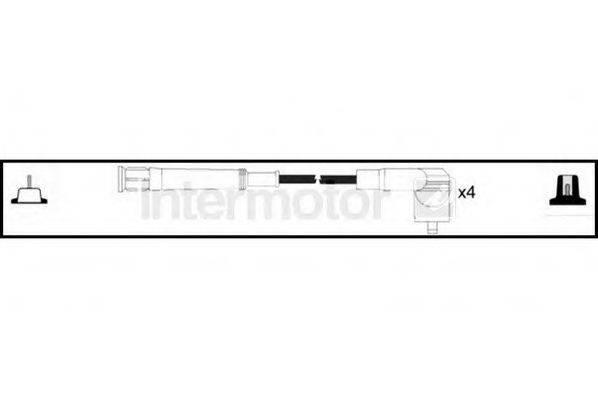 STANDARD 73841 Комплект проводов зажигания