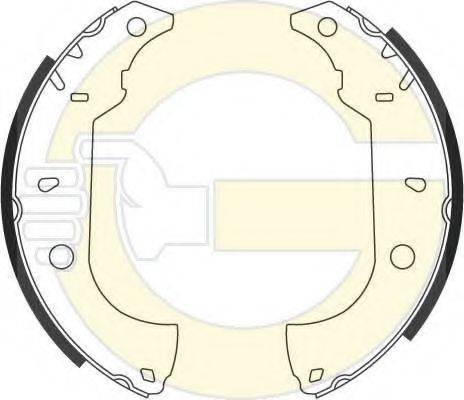 GIRLING 5186143 Комплект тормозных колодок