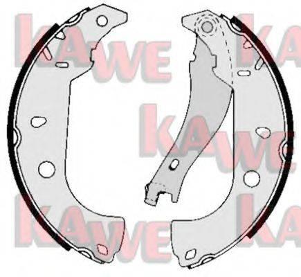 KAWE 05050 Комплект тормозных колодок