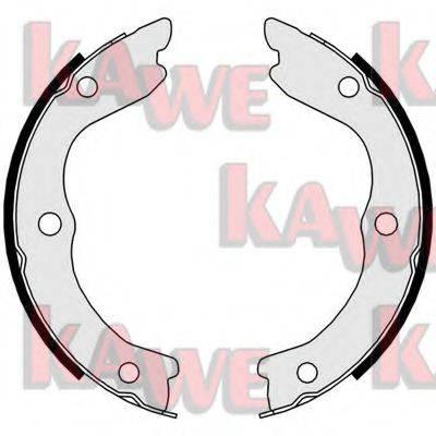 KAWE 09730 Комплект тормозных колодок, стояночная тормозная система