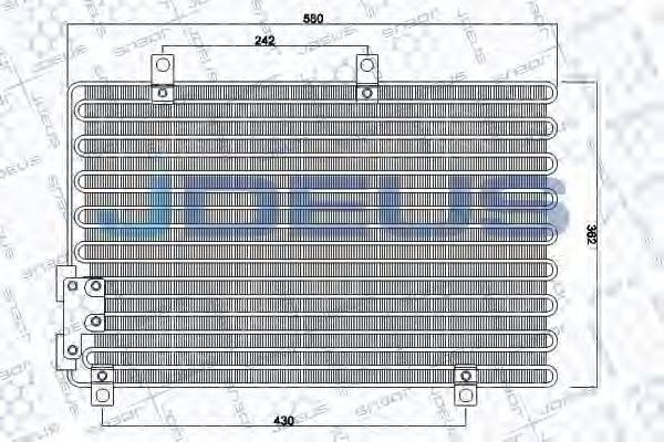 JDEUS 700M07 Конденсатор, кондиционер
