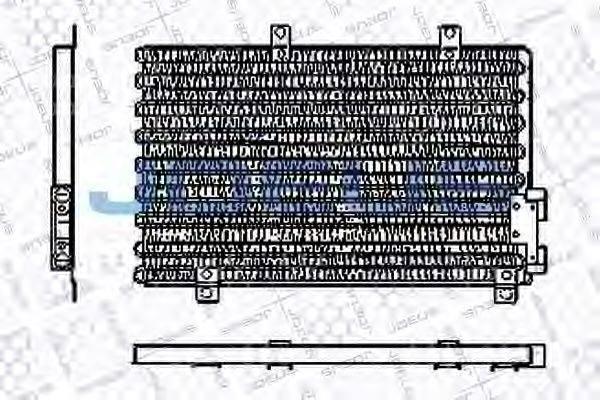 JDEUS RA7000040 Конденсатор, кондиционер