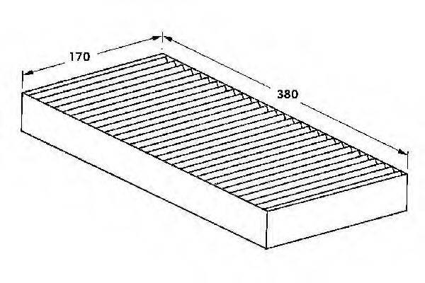 WEBASTO 82D0325002A Фильтр, воздух во внутренном пространстве