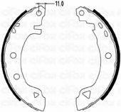 CIFAM 153002 Комплект тормозных колодок