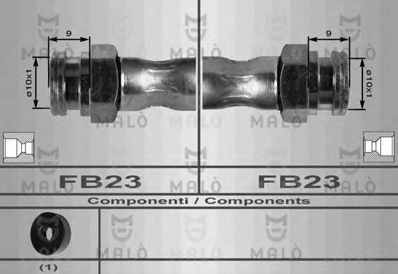 MALO 8613 Тормозной шланг