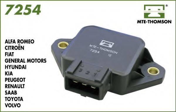 MTE-THOMSON 7254 Датчик, положение дроссельной заслонки