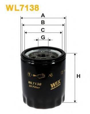 WIX FILTERS WL7138 Масляный фильтр