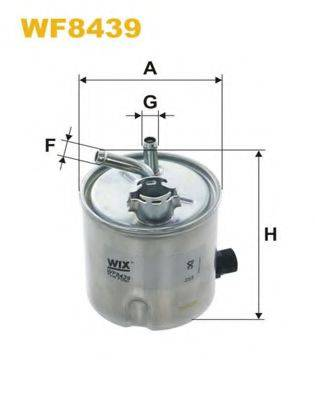 WIX FILTERS WF8439 Топливный фильтр