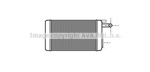 PRASCO FTA6106 Теплообменник, отопление салона