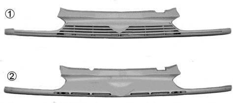 VAN WEZEL 0145510 Решетка радиатора