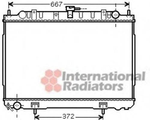 VAN WEZEL 13002241 Радиатор, охлаждение двигателя