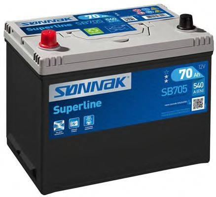 SONNAK SB705 Стартерная аккумуляторная батарея; Стартерная аккумуляторная батарея
