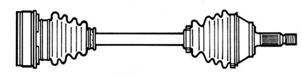 CEVAM 5759 Приводной вал