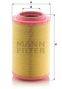 Воздушный фильтр MANN-FILTER C 25 860/8