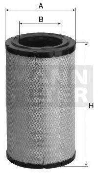 Воздушный фильтр MANN-FILTER C 30 1345