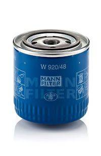 MANN-FILTER W92048 Масляный фильтр
