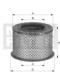 Воздушный фильтр MANN-FILTER C 2375