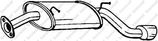 Глушитель выхлопных газов конечный BOSAL 128-005