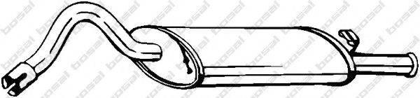 Глушитель выхлопных газов конечный BOSAL 130-209