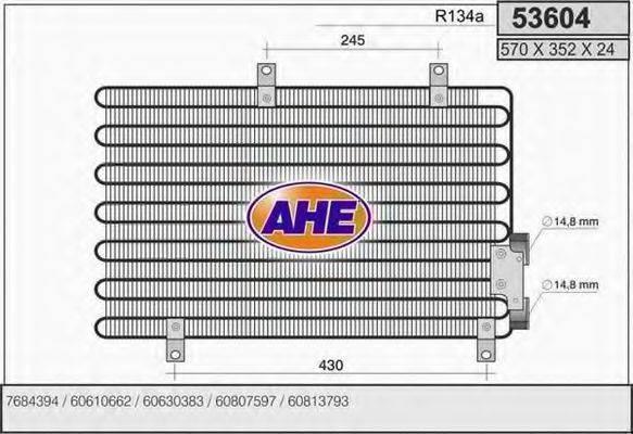 AHE 53604 Конденсатор, кондиционер
