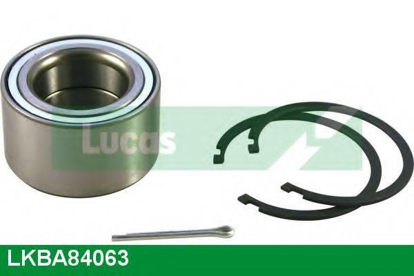 LUCAS ENGINE DRIVE LKBA84063 Комплект подшипника ступицы колеса