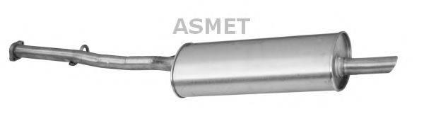 Глушитель выхлопных газов конечный ASMET 12.034