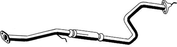 Средний глушитель выхлопных газов ASMET 13.009