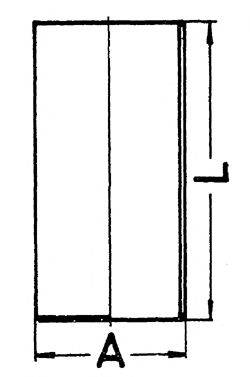 KOLBENSCHMIDT 89835190 Гильза цилиндра